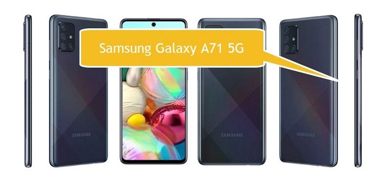 Samsung Galaxy A71 5G Akıllı Telefon