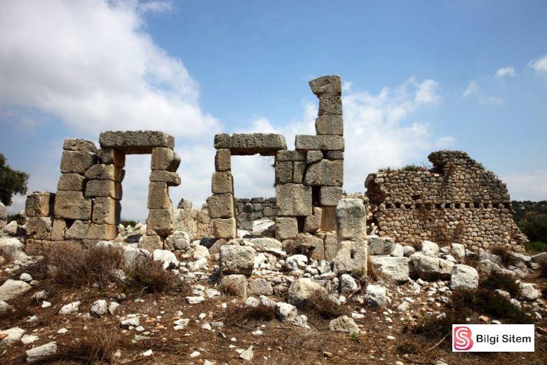 akdeniz bölgesi meşhur antik kentler