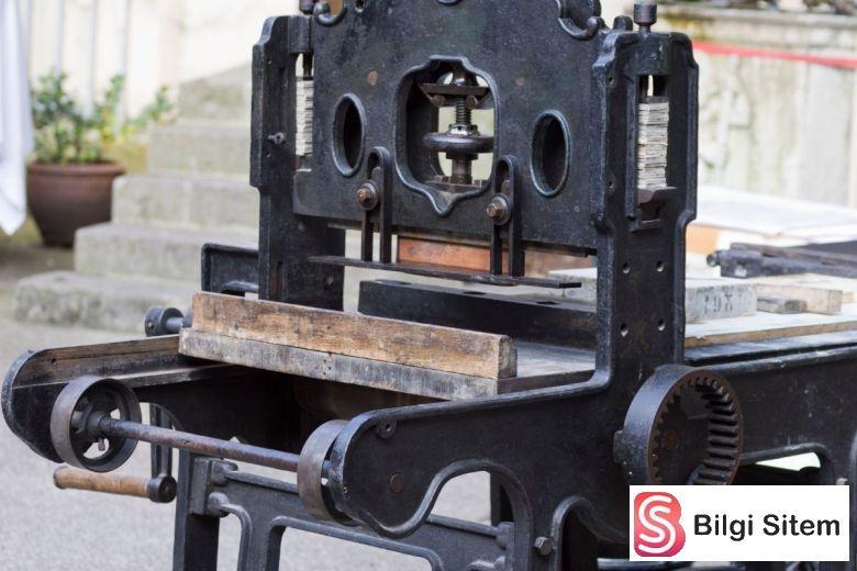 taş baskı makinesi