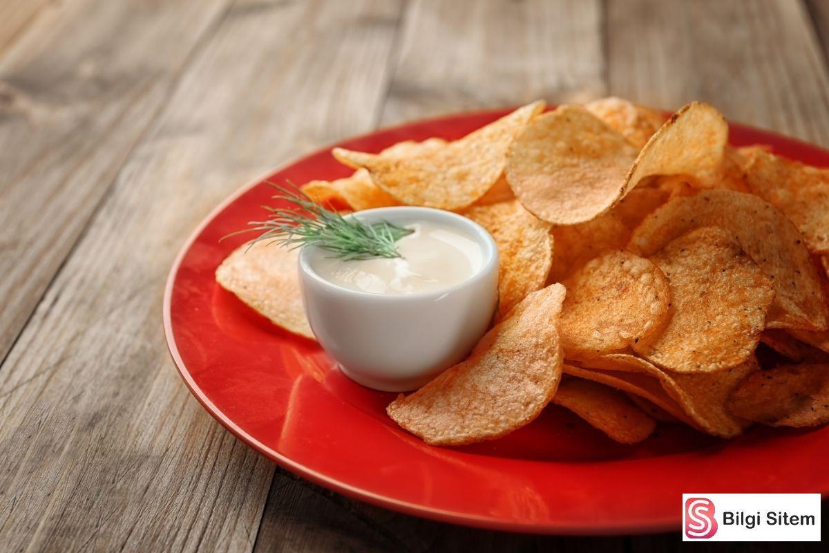 yoğurtlu cips sosu tarifi