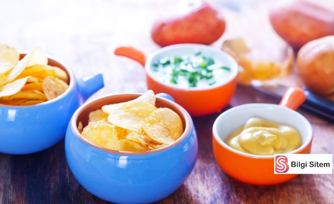 yoğurtlu ve yoğurtsuz cips sosu tarifleri