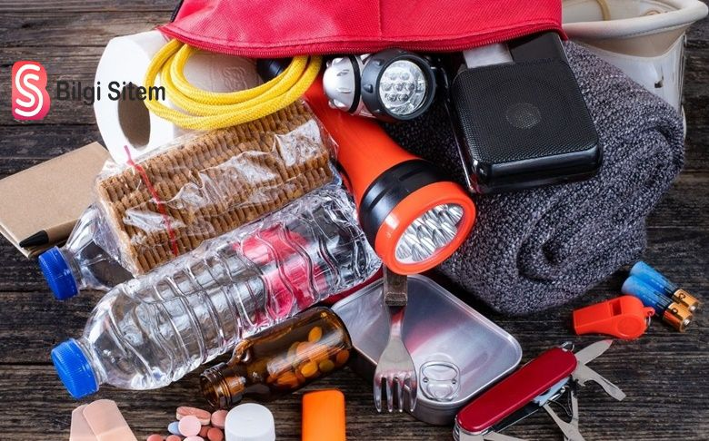 deprem çantasında neler olmalıdır